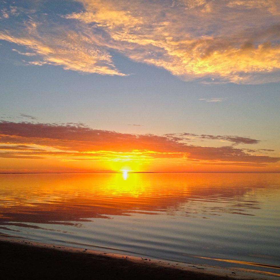 Flinders Island Tasmania Sunset Jan 2014